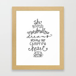 Marshmallow Dreams by Jessica Kirkland Framed Art Print