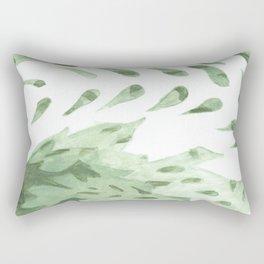Abstract Fern Rectangular Pillow