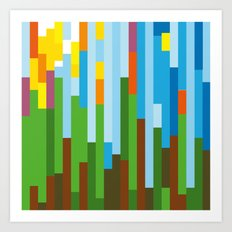 Rainforest Twilight Art Print