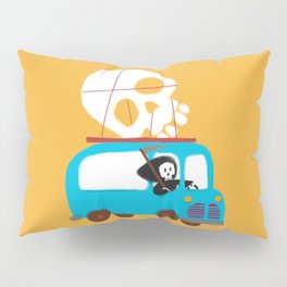 Death on wheels Pillow Sham
