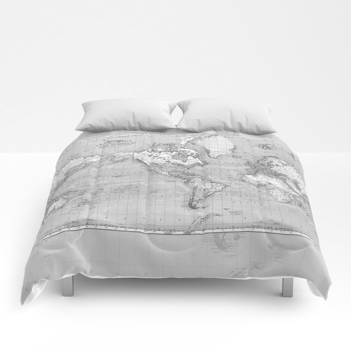 Atlas of the World Comforters