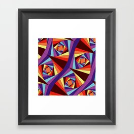 Go Crazy Framed Art Print