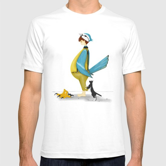 Blue Chickadee T-shirt