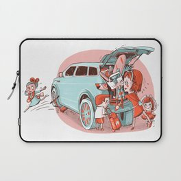 Busy Mother Laptop Sleeve