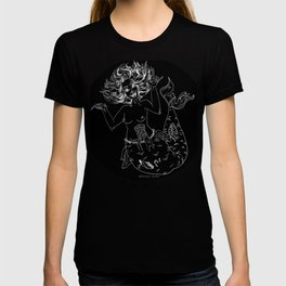Zombie Mermaid Team Scream T-shirt