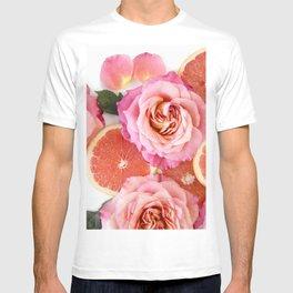 Grapefruit & Roses 02 T-shirt