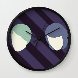 Tegan and Sarah Wall Clock