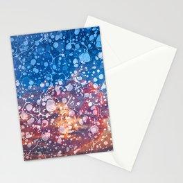 Vintage Marbled Sunset Stationery Cards