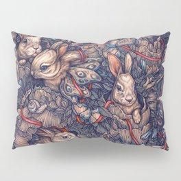 Bunnerflies Pillow Sham