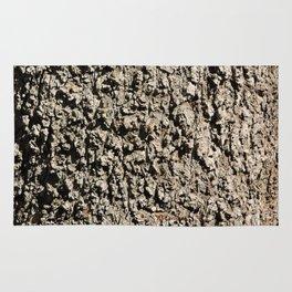 TEXTURES -- Western Sycamore Bark Rug