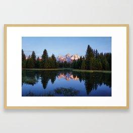 Reflected Serenity Framed Art Print