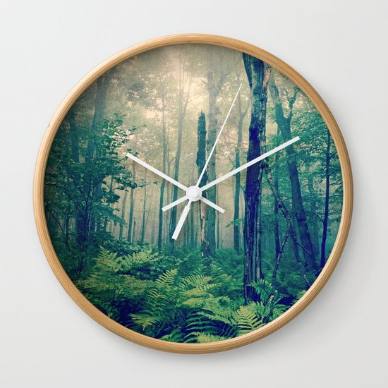 Walk to the Light Wall Clock