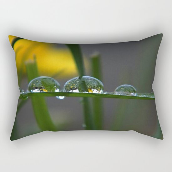 GREEN ART Rectangular Pillow