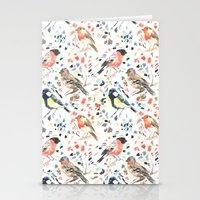 british Stationery Cards featuring British Birds by Lauren Thomas Designs
