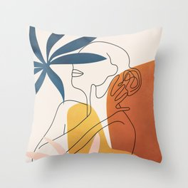 Minimal Movement I Throw Pillow