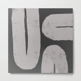 Nikko Abstract Series - Light Line 3 Metal Print