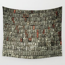 Letters Wall Tapestry