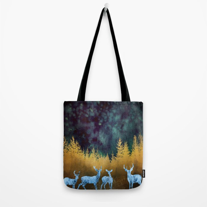Midnight Meeting Tote Bag