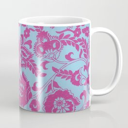 Dual tone folkart style pattern indian Coffee Mug