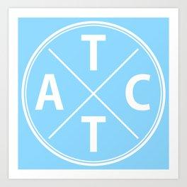 The TACT Logo Art Print