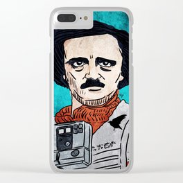 Edgar Allan Poe Dameron Clear iPhone Case