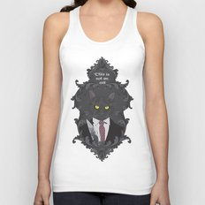 American Psycho Kitty Unisex Tank Top