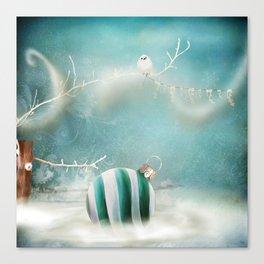 Minimal Christmas Canvas Print