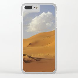 Sahara desert. Clear iPhone Case