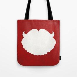 Santa Claus Beard Tote Bag