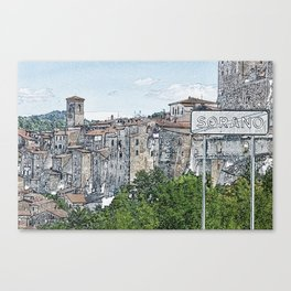 Sorano Canvas Print