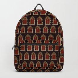 Halloween Windows // Blood Red Backpack
