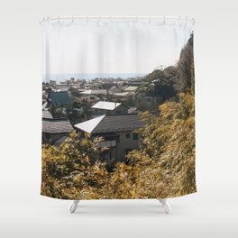 Japan's Coast Shower Curtain