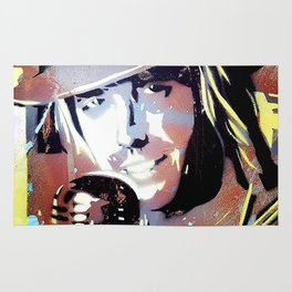 Tom Petty. legend. painting. print. Rug