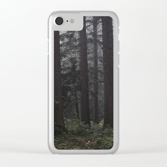 Dark Woods Photography Clear iPhone Case