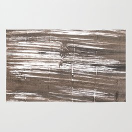 Umber abstract watercolor background Rug