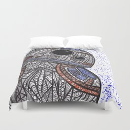 BB-8 Zentangle Duvet Cover
