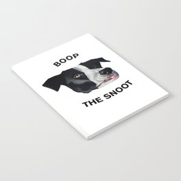 Boop The Snoot Notebook