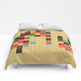 Mid Century Textile Series 1_2 Comforters