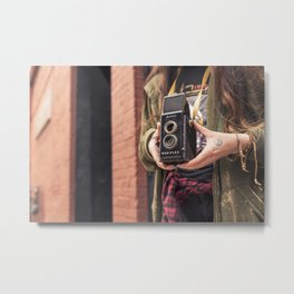 Take a photo Metal Print