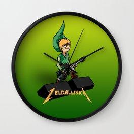 Zelda llinka - Green Link Wall Clock