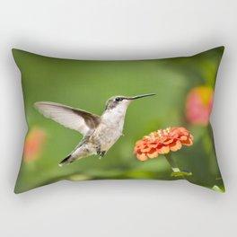 Beautiful Hummingbird Rectangular Pillow
