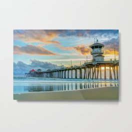 Zero After the Storm Metal Print