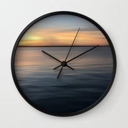 Sunset 11.23 Wall Clock