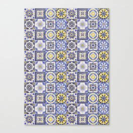 Talavera Ceramics Canvas Print