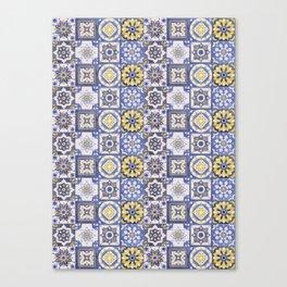 Talavera Ceramics Canvas Print