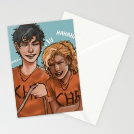 Happy Percabeth Stationery Cards