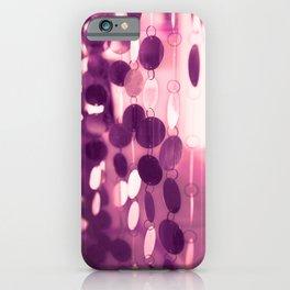 GLAM CIRCLES #Pink/Purple #1 iPhone Case