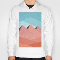 egypt Hoodies featuring Egypt by Illusorium