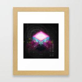 NEON FUTURE II Framed Art Print