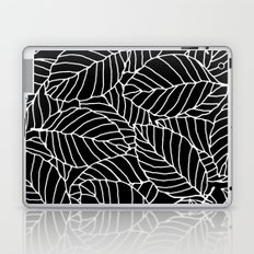 Sweet leafs: Black Laptop & iPad Skin